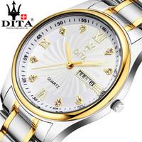 watch,Business Switzerland men's stainless steel watch ultra-thin waterproof quartz men's watch not mechanical watch