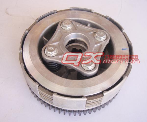 new HD 5 Plates Engine Clutch Assembly Fits LIFAN 150cc Dirt pit Bike Horizontal Engine Parts free shipping(China (Mainland))