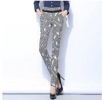 New Arrival 2015 Women Spring Harem pants, female Patchwork Slim HIp Long Trousers Large Size