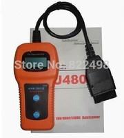 Free Shipping U480 OBD2 OBDII Car/Truck AUTO Diagnostic Engine Scanner Fault Code Reader