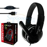 AoLanGe OV-Q6 USB headphones  Black