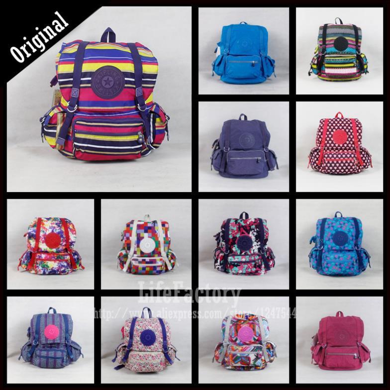 Original Mochila Kippling Backpack Biggest Travel Pack Huge Capacity Bolsas Kippling 2015 Kippling Bag OEM Retail Quality(China (Mainland))