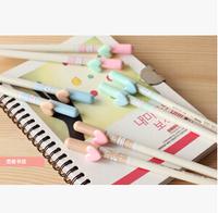 Fashionate 240pcs/lot Black Refill Love Letter Gel Pen Loving Heart Gel-Ink Pen Stationery Office/School Supplies #GP336
