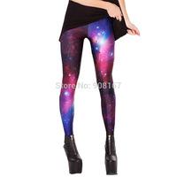 2015 autumn fashion models watermark bottoming stretch pants tight pants whole sky pencil pants Star Leggings, women leggings