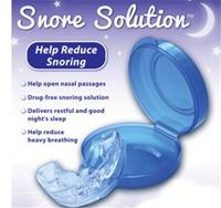 PURE QUIET Z'S SLEEP STOP SNORING MOUTHPIECE SOLUTION ANTI SNORE GUARD APNEA AID
