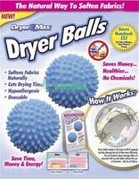Hot No Chemicals ECO Tumble Wash Washing Laundry Dryer Balls Soften Fabric Cloth