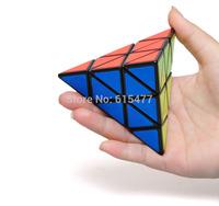 Pyramid triangle magic cube spring tyranids adjustable casual toys