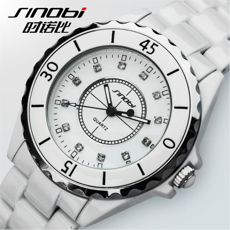 015 Sale Direct Selling Hardlex Stainless Steel Watches Quartz Watch When Kenobi Damen Ceramic Watch Diamond Fashion Lady Table(China (Mainland))