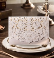 2015 new Wishmade Floral Wedding Invitation Cards With Free Envelopes