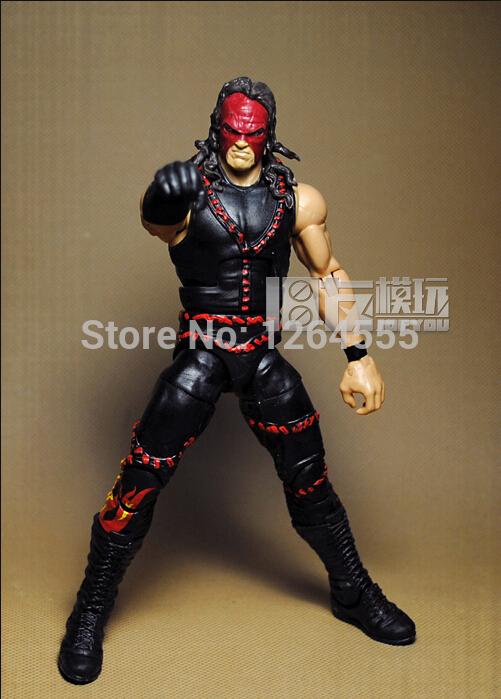 Free Shipping 6'' DIY Wrestler Doll RA Series Action Figure Boxer Model Kane Glenn Thomas Jacobs Glen Jacobs CP003(China (Mainland))