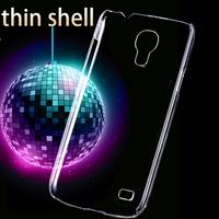 Slim Light Hard Back Case For Samsung Galaxy S4 Mini I9190 I9192 I9195 Transparent Clear Crystal Mobile Phone Cover S 4 Mini