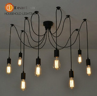 Good Looking Fashional Eletrical Wire Pendant Lights With 6/8/10 heads,E27 Pendant Lamps For Home/Room/Living Room