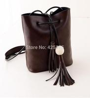 The new spring 2015 fashion single shoulder bag Tassel leisure inclined shoulder bag