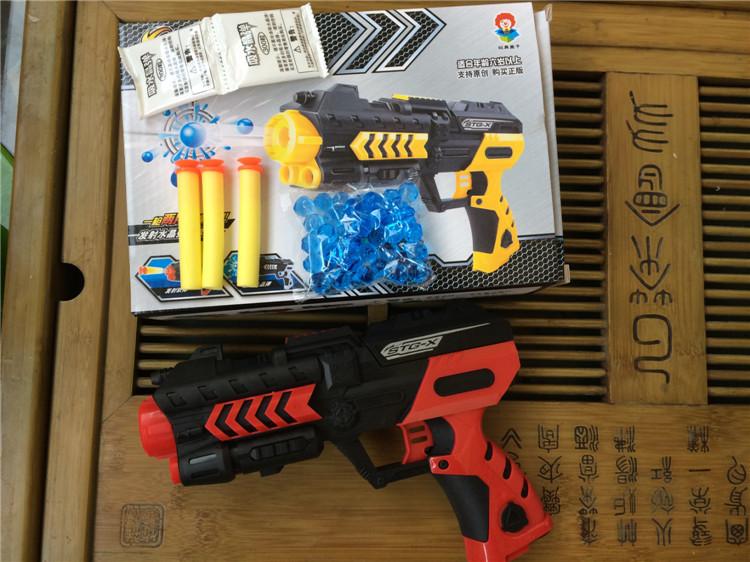 Free shipping Soft Bullet Gun Paintball Gun Pistol Plastic Toys CS Game Shooting Water Crystal Gun Nerf airsoft.gun Airgun(China (Mainland))