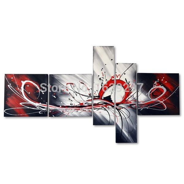Achetez en gros tache rouge en ligne des grossistes tache rouge chinois a - Peinture sur toile moderne pas cher ...