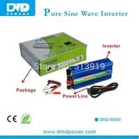 500w Single Phase solar power inverter pure sine wave 12v to 220v inverter