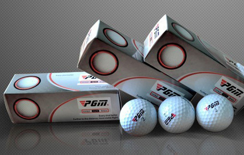 Free Shipping Wholesale Golf Balls Training GolfBalls Exercise Ball Led Golf Balls Best Selling Golf Ball 3 Pieces(China (Mainland))