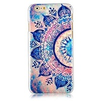 3D Arc-shaped Pattern Hard Back Case for iPhone 6 #02245424