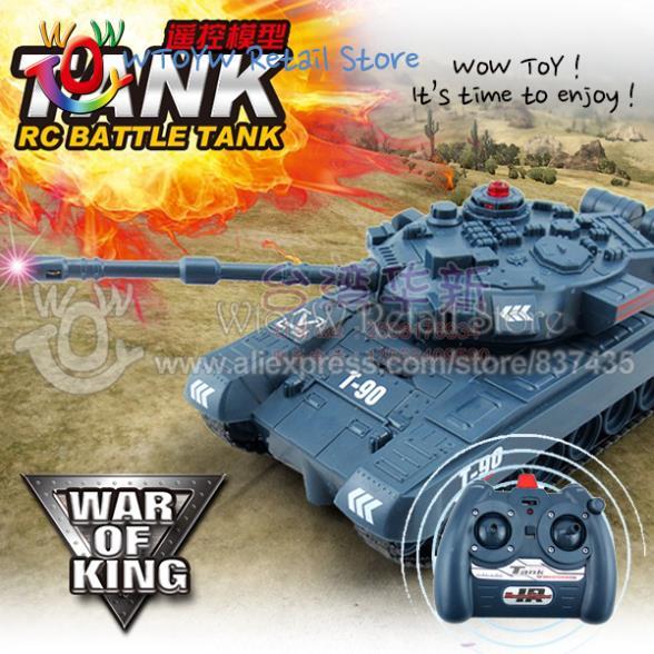Детский танк на радиоуправлении WTOYW 2 /rc flash world of tanks