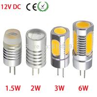 High Power G4 DC 12V Cree COB LED Bulb 1.5W 2W 3W 6W Crystal Chanderlier Spot Lighting