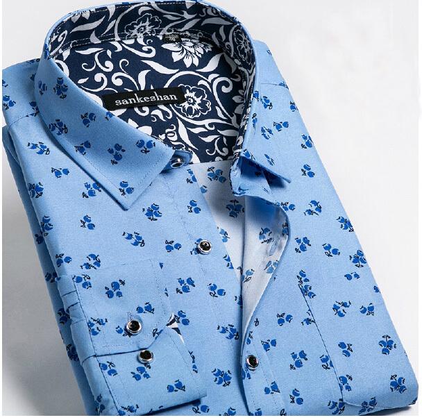 Мужская повседневная рубашка YXS5289