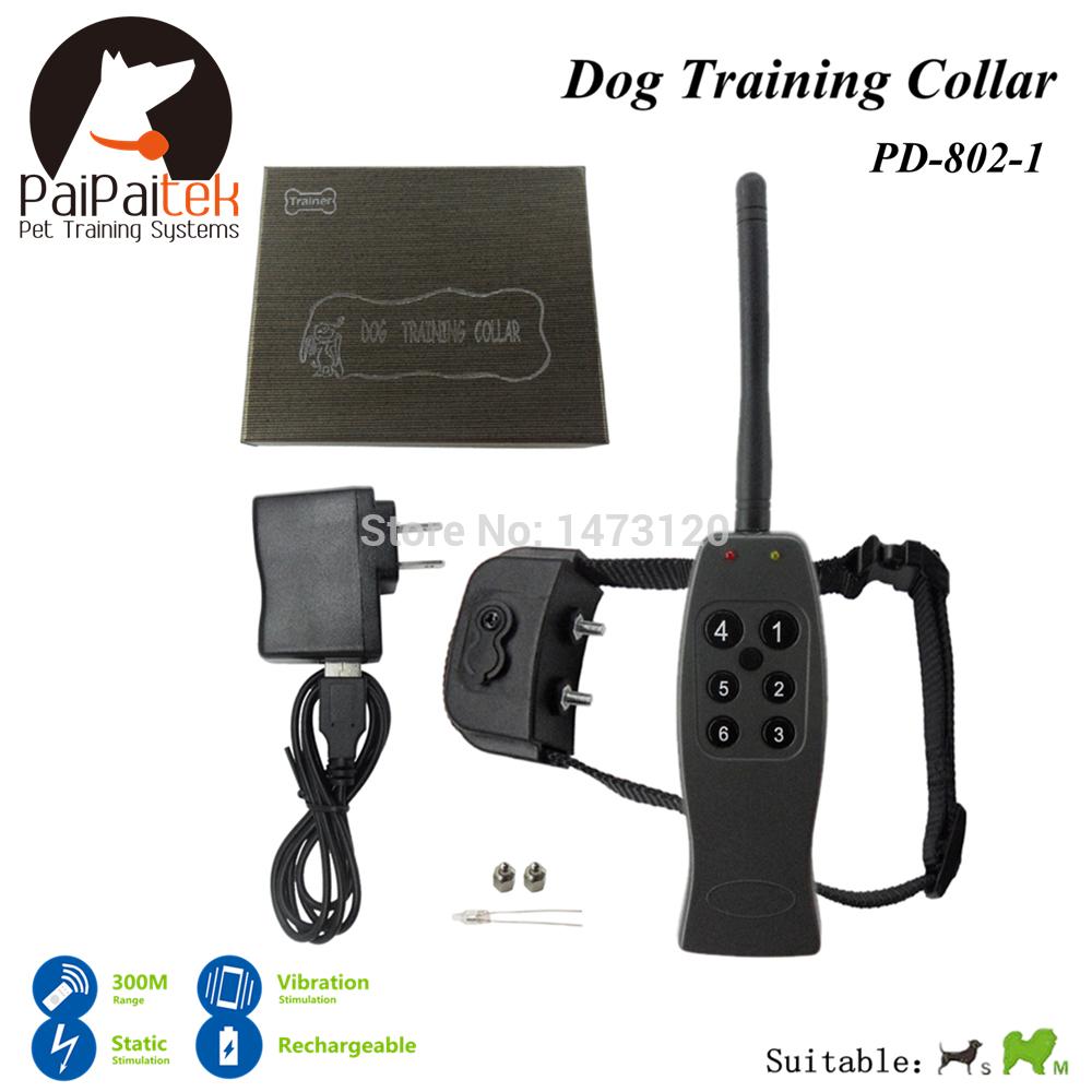 Shock+Vibra+Electric Dog Training Collar 300-400M Range Remote Manual Control Bark Control Remote Electric Shock No Bark Collar(China (Mainland))