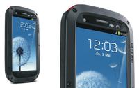 Original LOVE MEI Powerful Shockproof Dirtproof Waterproof Metal Case For Samsung Galaxy S3 SIII i9300