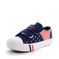 2015 spring new children's fashion canvas shoes to help low popular stars stripes shoes pupils