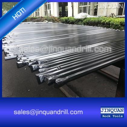 hard rock mining integral drill steel, integral drill rod(China (Mainland))