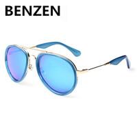 2015  Sunglasses Women Polarized UV 400 Aviator Sun Glasses Female Oculos De Sol Feminino  With Case 6032
