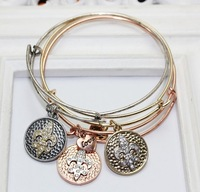 2015 Hot Bangles Classic Fashion Charms Alex and Ani Vintage Navy wind Bracelet Metal Alloy Female decoration item