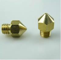 3Pcs 0.4mm Copper Extruder Nozzle Print Head for 1.75mm KOSSEL 3D Printer