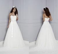 Romantic Sweetheart Fashionable Cheap Wedding Dresses Robe De Mariage Custom Made Bridal Gowns 2015 Hot Sale Vestido De Novia