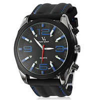 Men's Watch Dress Watch Fashion Silicone Strap #00721893