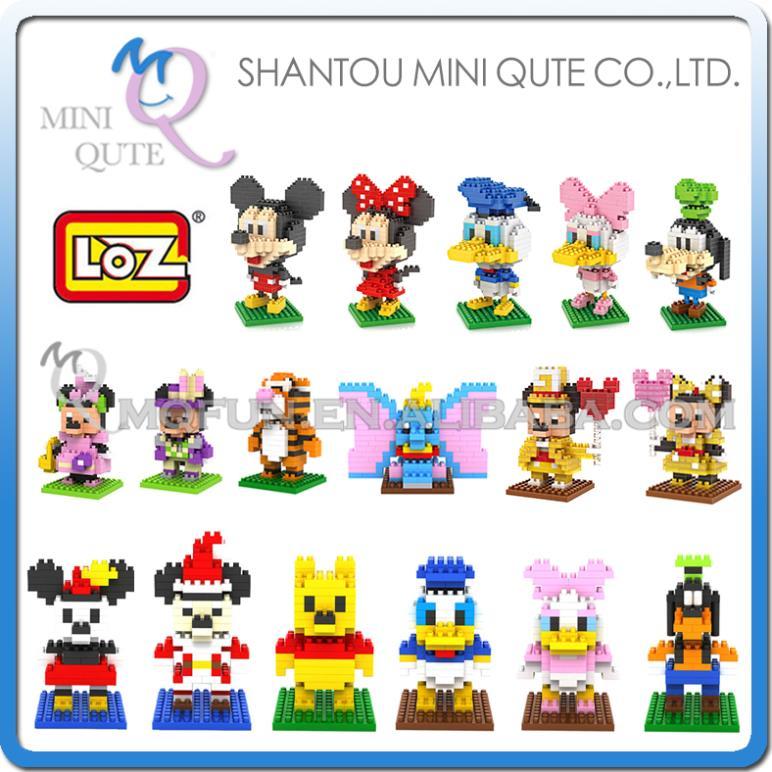 Детское лего Qute 17 3d loz nano 9413-9417 9170-9175 9413-9417 детское лего lego loz 9309 ty 1304