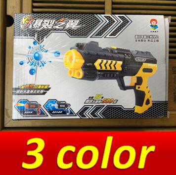 Free shipping Nerf airsoft.gun Airgun Soft Bullet Gun Paintball Gun Pistol Plastic Toys CS Game Shooting Water Crystal Gun(China (Mainland))