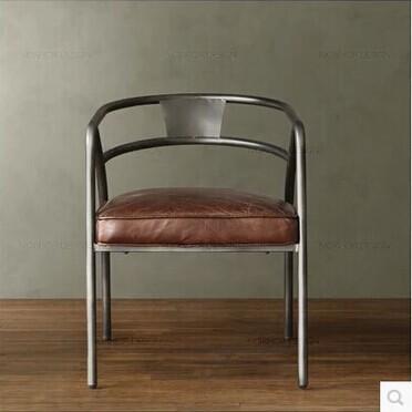 kopen Wholesale lederen retro stoelen uit China lederen retro stoelen ...