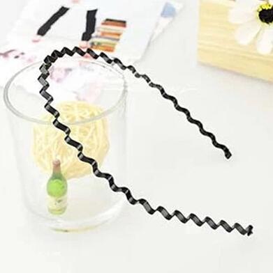 5 pcs New accessories wavy hair buckle hair band headband pitching metal band sheadline hair clasp(China (Mainland))