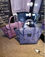 2015 autumn and winter fashionable vintage scrub smiley bag cross body handbag messenger bag cheap online free shipping