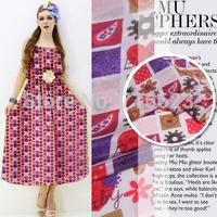 201502701 Free Shipping 2015 NEW  printed silk crepe de chine fabric