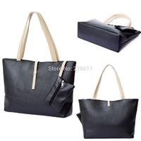 2015 Fashion Ladies Tote Bag Handbag Women's Classic Shoulder Bag  PU leather Spring Bright
