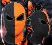 JLA Balaclava Deathstroke Arrow Superhero  Cosplay Costume Halloween X-men Hats Hat Deadpool Cotton Rib Fabrics Full Face Mask