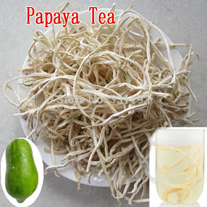 Papaya Silk Flower Tea Breast