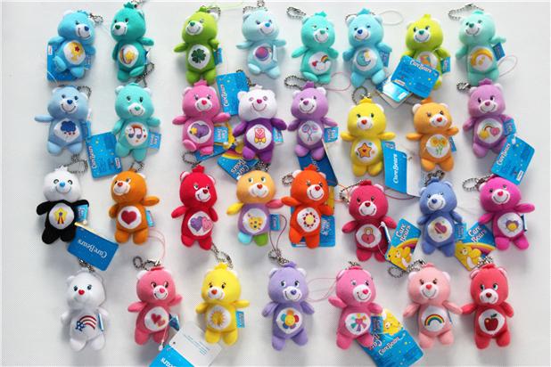Urso colorido tipo de acessórios do telefone móvel animais pendente linda moda portátil preço econômico(China (Mainland))
