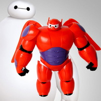 Big hero 6 Action  Figure  hero Baymax Fat Man urperman Can Move with the Waist Lovely Beauty Doll Toy for Kids