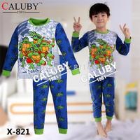 2015 new spring children boys girls unisex long sleeve cartoon clothing set / kids sleepwear / baby pajamas