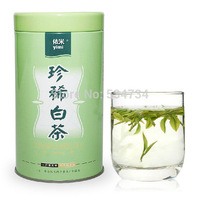 50g Superior Grade White Tea Silver Needle Tea , Anti-old Chinese Green Tea Skin Health Care with Gift Packing Free Shipping