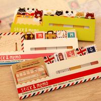 2014 Cute Stationery Stationery Papelaria Papel Rilakkuma Korea Vintage Fresh Sticky N Times Stickers Notes On Paper Memo Pad