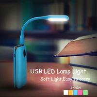 Free Shipping New USB lamp for Notebook Computer Laptop PC Portable Flexible Metal Neck LED Light Foldable Soft Light USB Light