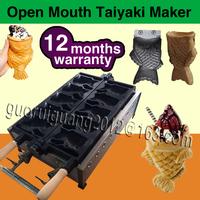 LPG Gas fish waffle machine; fish waffle making machine;fish waffle maker with one side for sale
